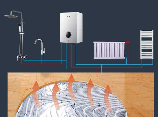 Inudction_electric_combi_boiler